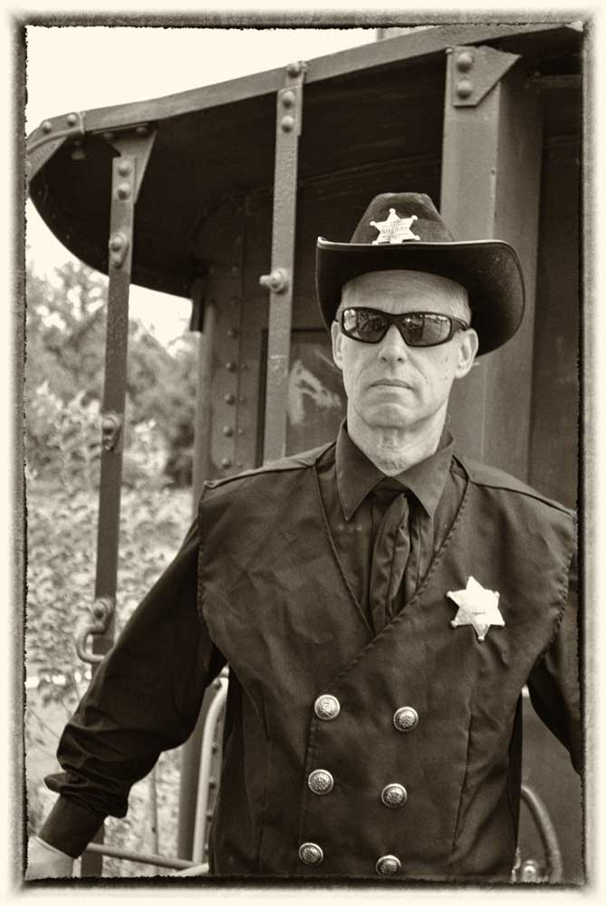 sheriff old fashioned photograph